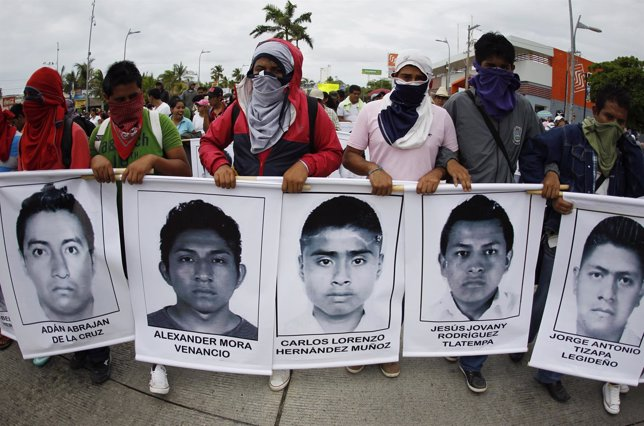 Estudiantes secuestrados en Iguala