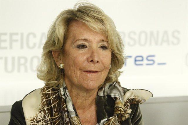 Esperanza Aguirre en el Comité Ejecutivo Nacional del PP