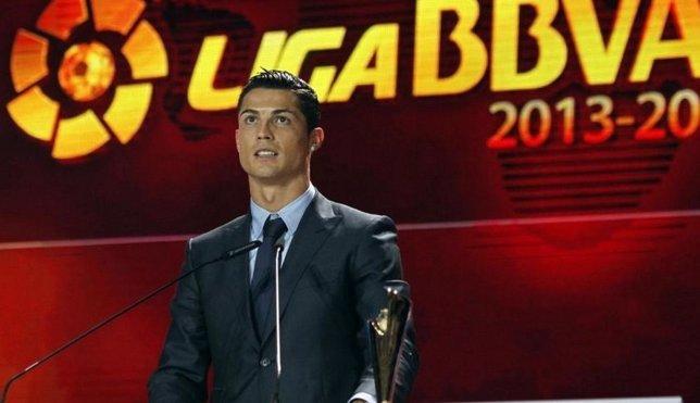 Cristiano Ronaldo Premios LFP Real Madrid