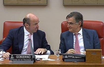 Guindos informará en el Congreso sobre los resultados de los test de estrés del BCE y la coyuntura general