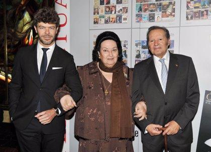 """Montserrat Caballé: """"Este premio no podía existir si no fuera por mi marido"""""""