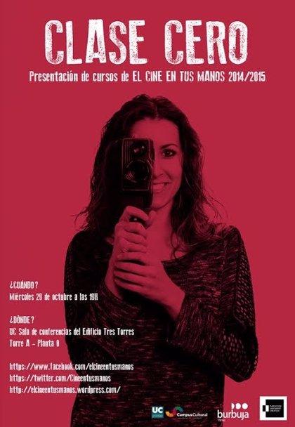 CANTABRIA.-Burbuja Films presenta este miércoles en la Universidad de Cantabria la II edición de 'El cine en tus manos