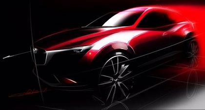Mazda desvelará el CX-3 en el Salón de Los Ángeles