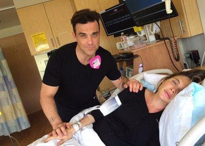 Robbie Williams anima el parto de su segundo hijo con 'Frozen'