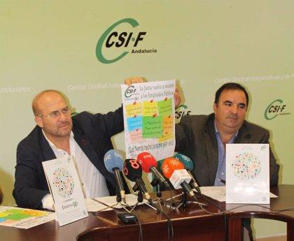 """CSIF-A convoca concentraciones para el 12 de noviembre y diciembre al """"no reintegrar la Junta lo recortado"""""""