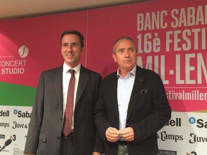 Carreras, Raphael y Niña Pastori, en el Festival del Mil·leni