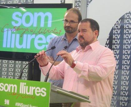 """ICV-EUiA avisa a Rajoy: no frenará el 9N pese a """"ilegalizarlo"""""""