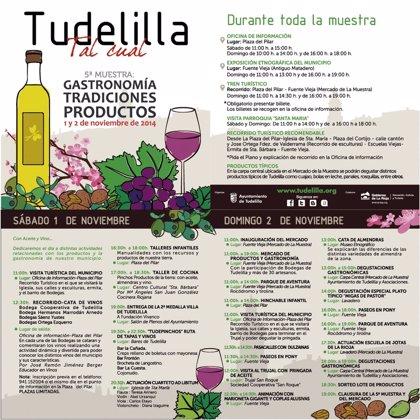 Catas, degustaciones y actividades para todos centrarán este fin de semana la muestra 'Tudelilla tal cual'