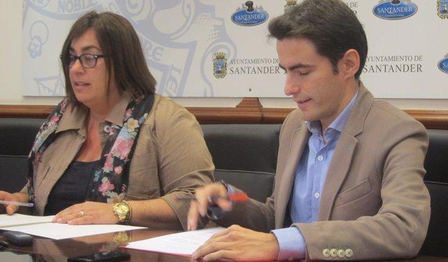 Pérez y Casares en rueda de prensa