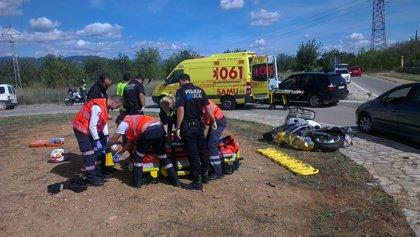 Mutua Madrileña ofrece identificación sanitaria para motoristas accidentados