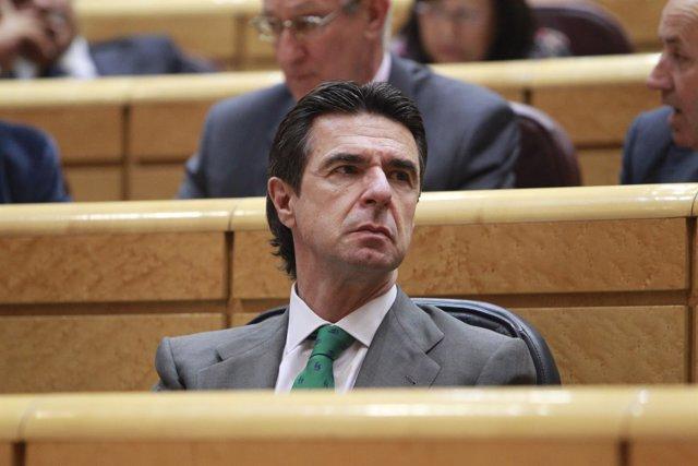 José Manuel Soria en el Senado