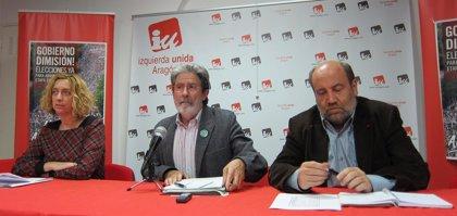 IU exige la devolución del anteproyecto de Ley de Capitalidad por no contar con el Ayuntamiento