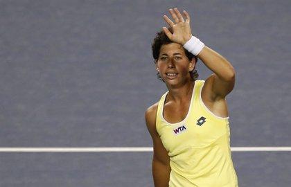Carla Suárez debuta con victoria en el Torneo de Campeonas de la WTA