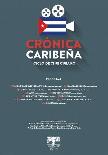 La Fundación Botín estrena este jueves un nuevo ciclo de cine sobre la realidad cubana