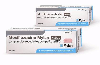 Mylan lanza 'Moxifloxacino Mylan 400 mg EFG' para tratar las infecciones bacterianas en mayores de 18 años