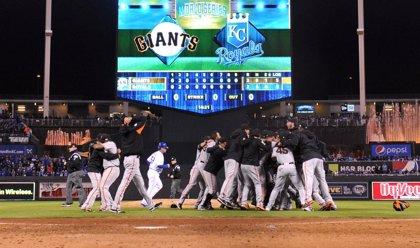 Los Giants ganan las Series Mundiales de beisbol