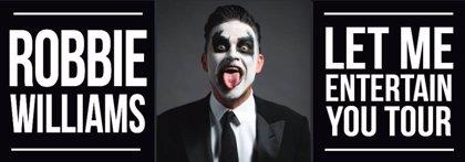 Robbie Williams arrancará gira mundial en Madrid y Barcelona