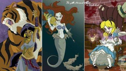 Las princesas Disney también dan miedo en Halloween
