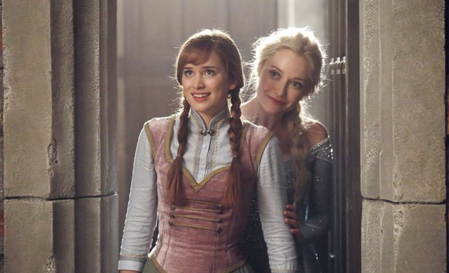 Elsa y Anna (Frozen) se reúnen en Once Upon A Time