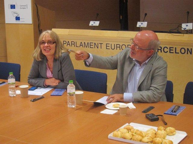 El eurodiputado de ERC, Josep Maria Terricabras