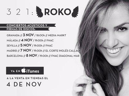 Fechas de las firmas de discos y actuaciones acústicas de Roko