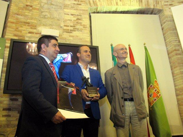 Presentación del premio del FIT de Cazorla a Cesc Gelabert