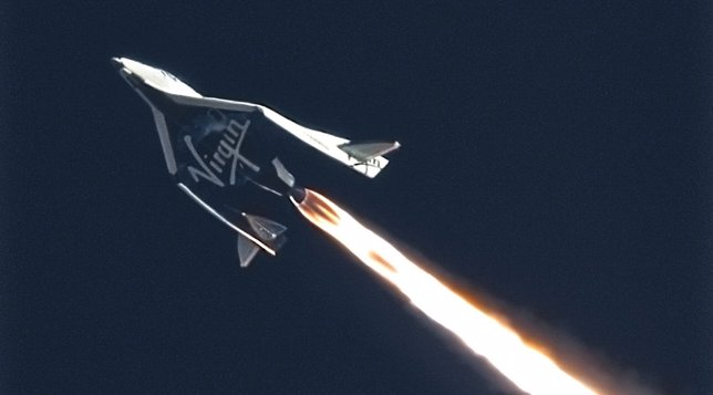 Nave espacial Virgin Galactic