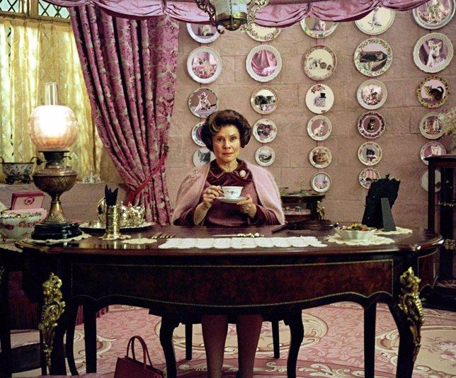 Imelda Staunton como Dolores Umbridge