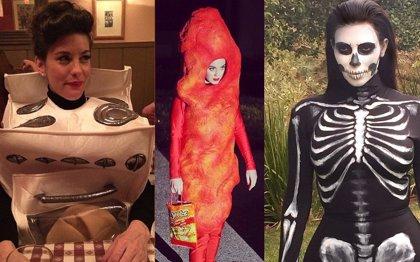Halloween: Así se disfrazaron los famosos