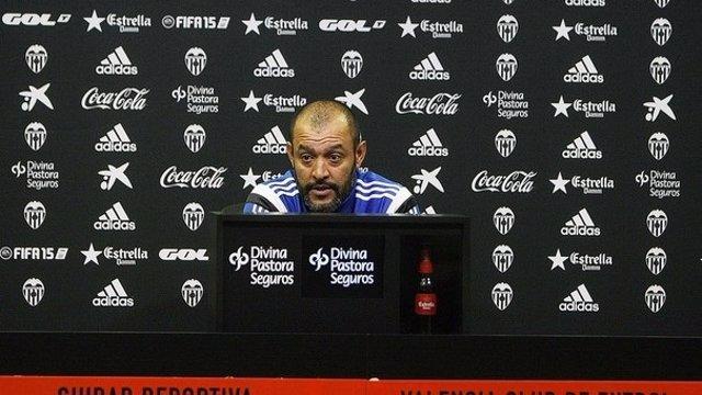 Nuno, entrenador del Valencia CF