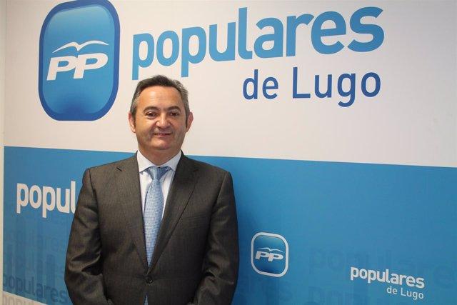 El diputado del PPdeG José Manuel Balseiro