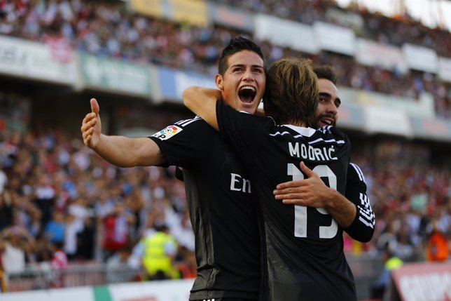 Real Madrid James Rodríguez Granada