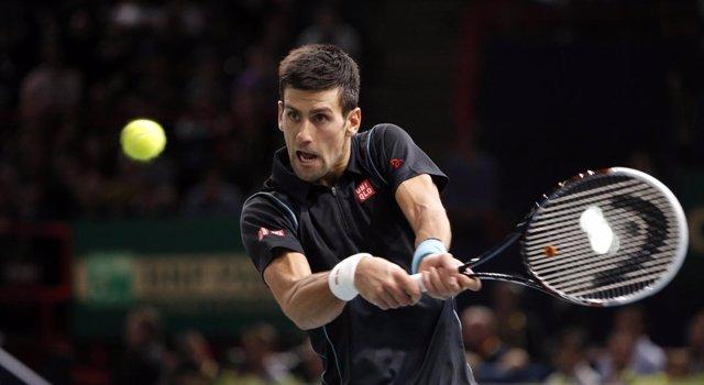 Novak Djokovic en el Masters 1.000 de París