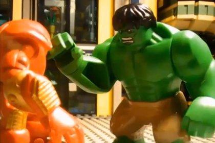 Tráiler de Los Vengadores: La era de Ultrón... versión LEGO