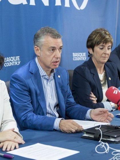 """Urkullu aboga por un """"pacto de Estado"""" para hacer frente a la corrupción"""