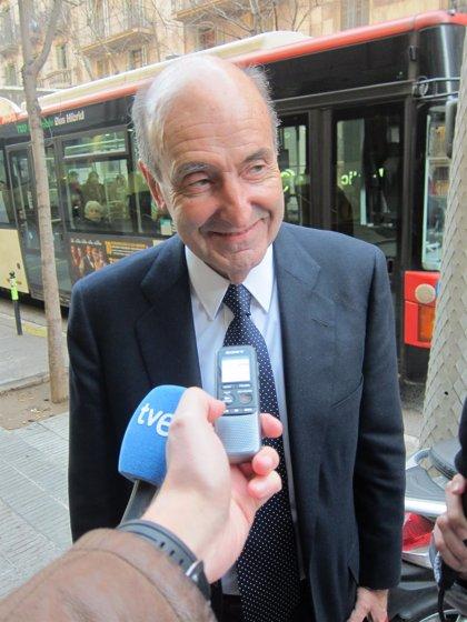 El abogado de la Infanta Cristina, Miquel Roca, imparte este lunes en Palma la conferencia 'El futuro de la abogacía'
