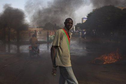 Seis granadinos refugiados en una mina de Burkina Faso