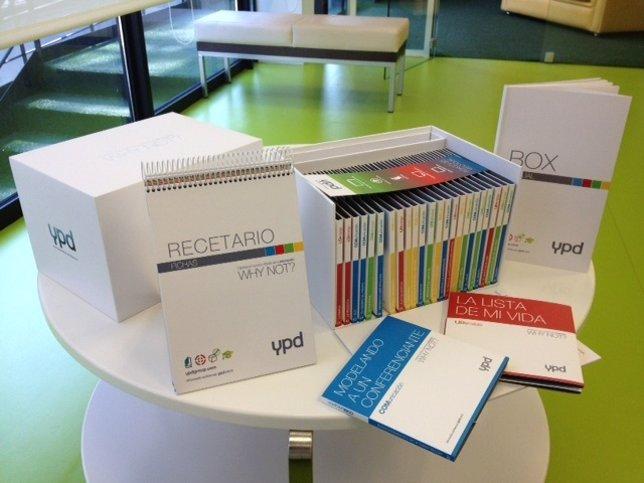 Materiales multimedia denominados YPD Box