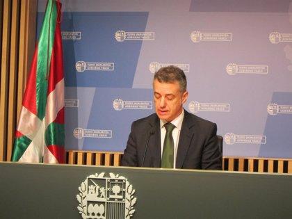 El lehendakari presidirá este lunes el XX Aniversario de la llegada de la Ertzaintza a Bilbao