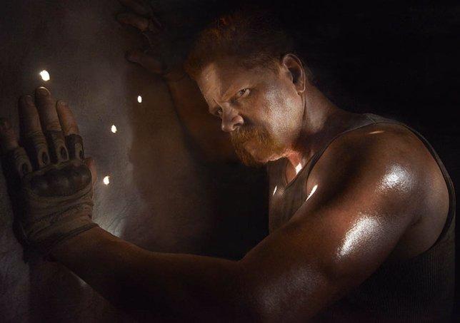 Michael Cudlitz es Abraham en The Walking Dead