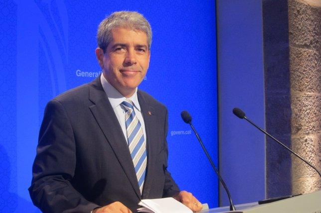 Francesc Homs, conseller de Presidencia
