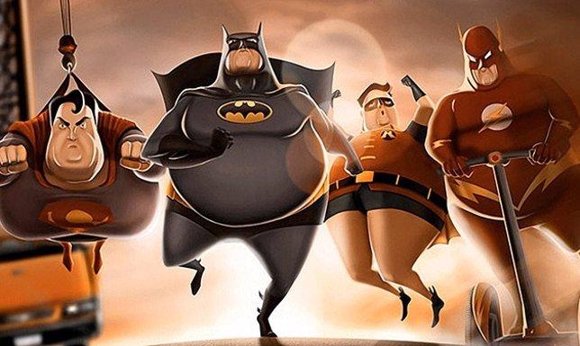 Héroes gordos