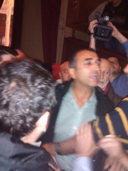 Ultraderechistas irrumpen en el Ateneo de Madrid contra el 9N