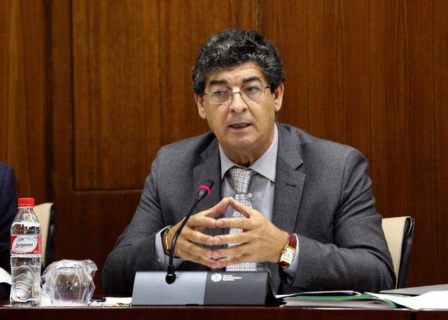 Diego Valderas, hoy en comisión