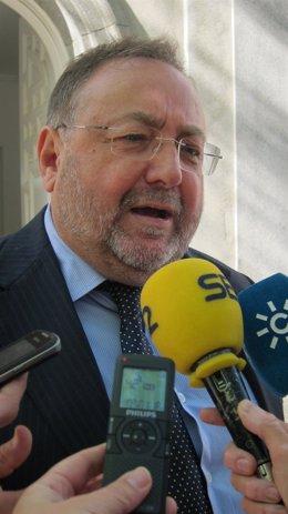 El alcalde de Alhaurín de la Torre (Málaga) y diputado del PP, Joaquín Villanova