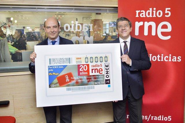 Cupon especial de la ONCE y Radio5