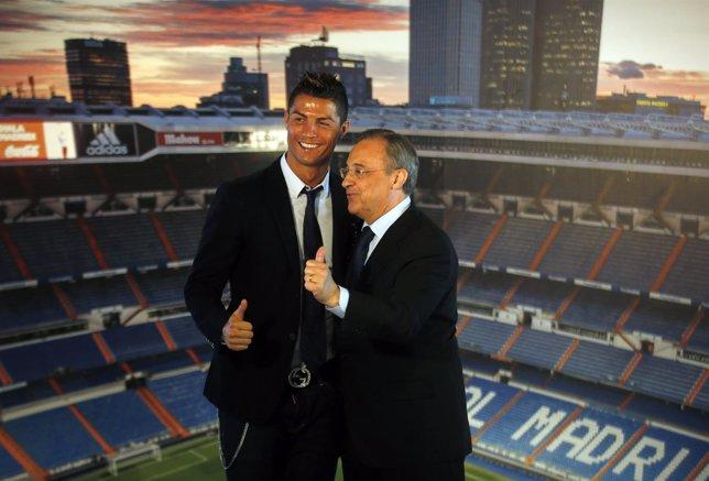 Cristiano Ronaldo Florentino Pérez renovación