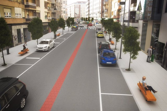 Infografía del proyecto de la Avenida Concordia
