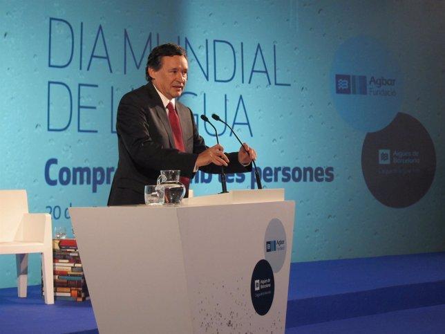 El presidente de Agbar, Ángel Simón