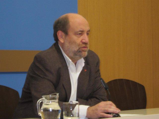 El portavoz del grupo muncipal de IU, José Manuel Alonso